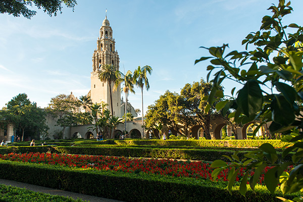 1868 – City Park (Balboa Park) established