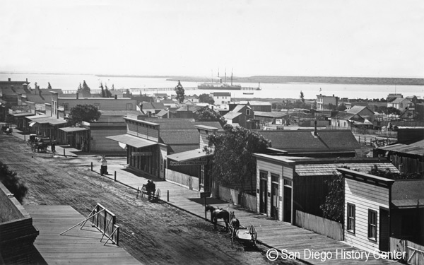 1871 – New Town (today's downtown) replaces Old Town as city center