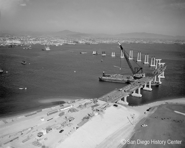 1969 – Coronado Bay Bridge connects San Diego and Coronado