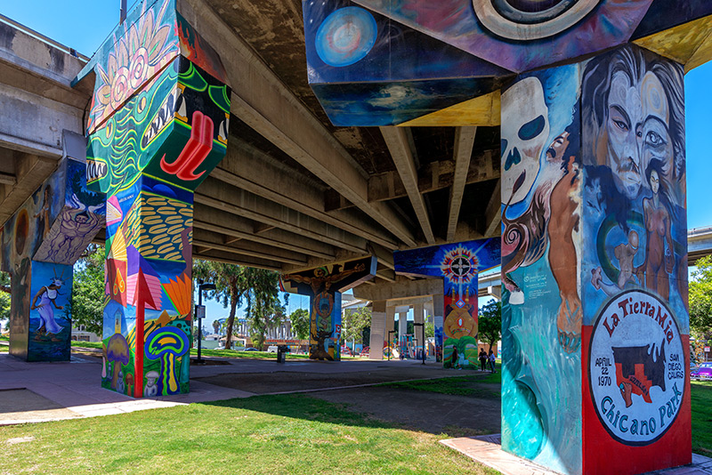 2017 – Chicano Park murals named National Historic Landmark